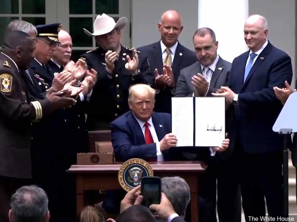Trump Police Reform Executive Order