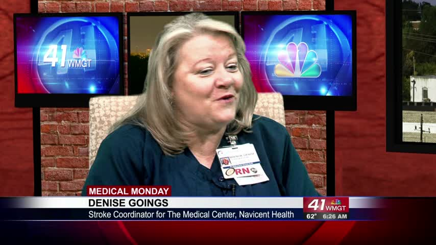 Stroke Coordinator Denise Goings joins 41NBC to talk about this medical emergency.