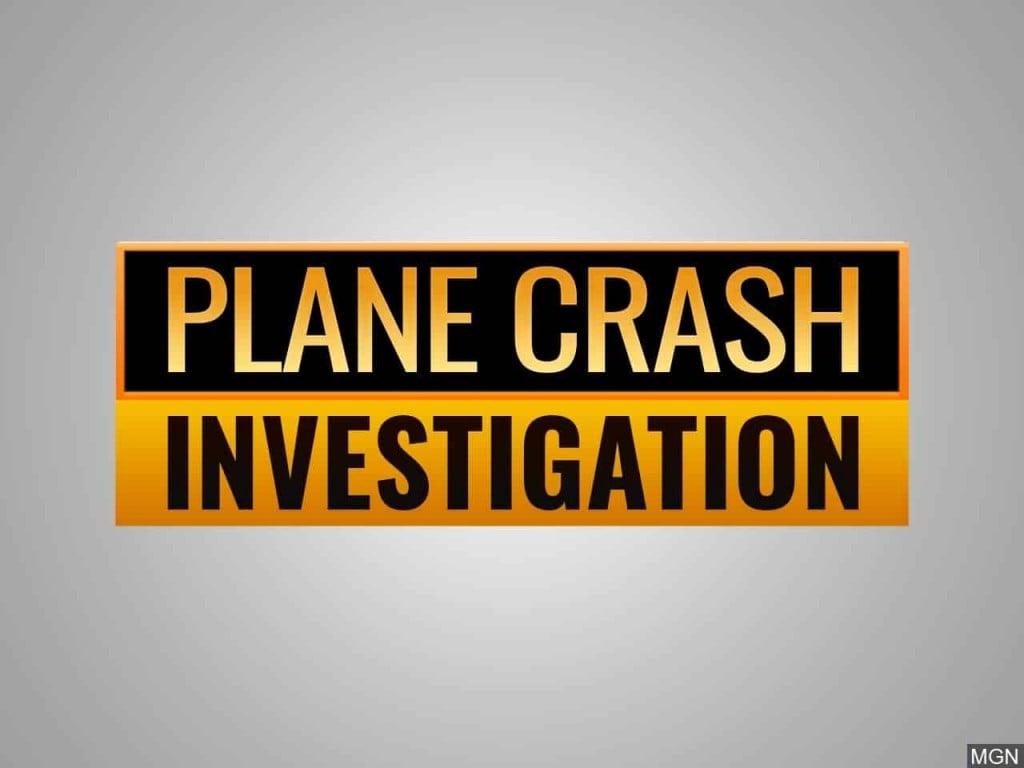 Plane crash investigation