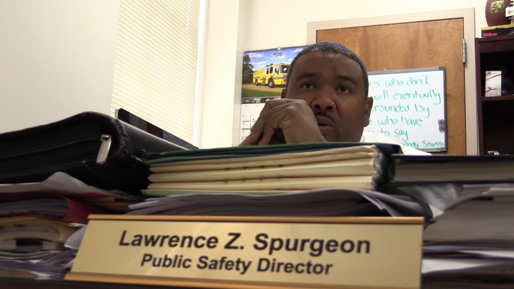 Fort Valley Public Safety Director Lawrence Spurgeon on police shootings.