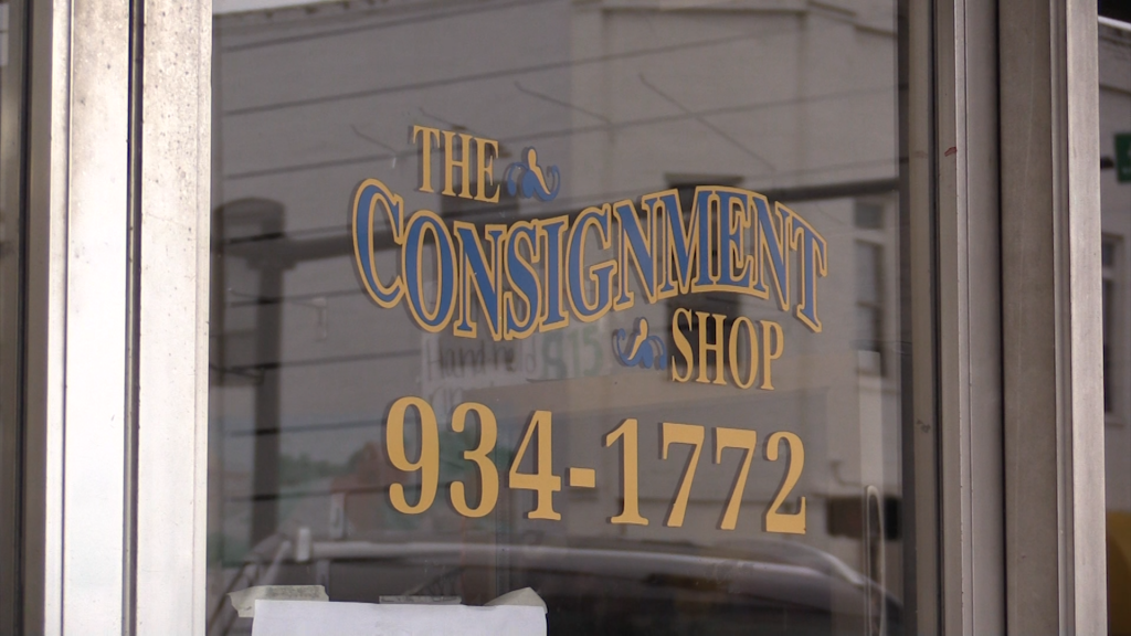 Facebook page Making Bleckley Better has partnered with the consignment shop to provide space for a food pantry.
