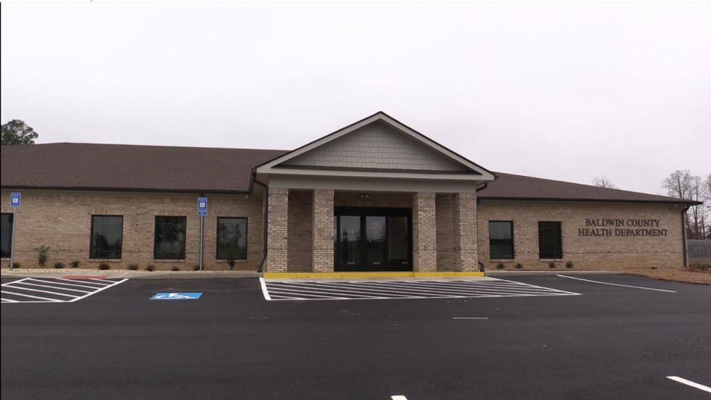 Baldwin County Health Department now open.