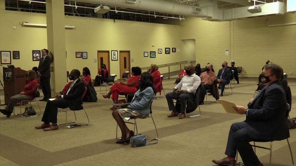 The Bibb County Board of Education held their swearing-in ceremony.