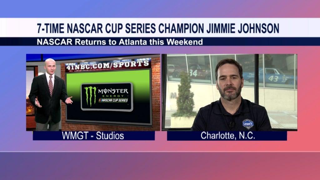 Jimmie Johnson 41NBC Interview