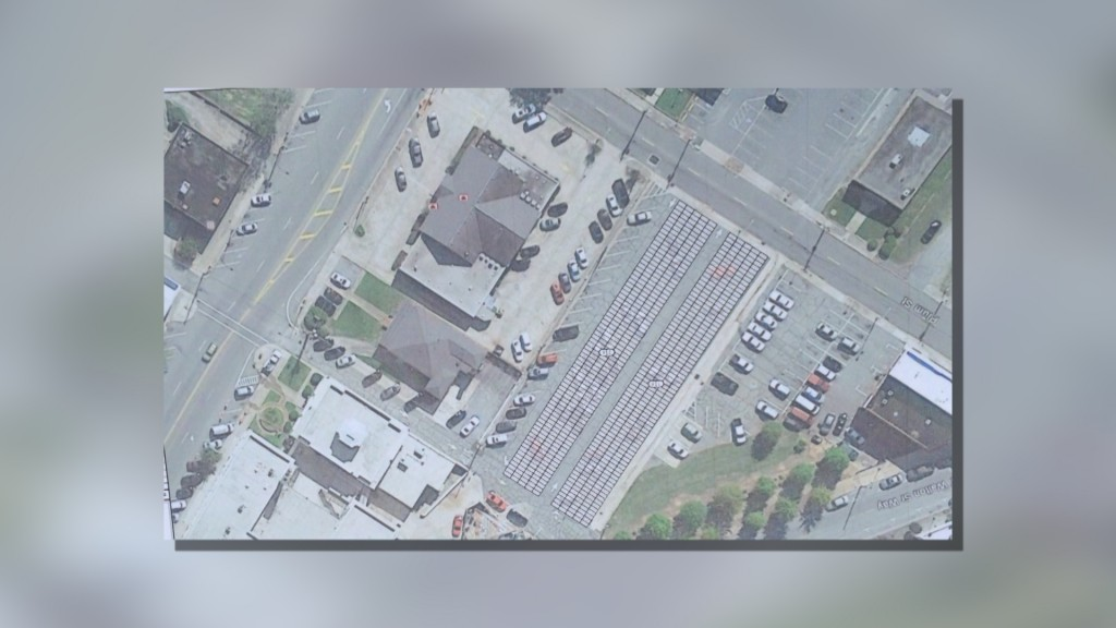 Plans for solar panels in Macon.