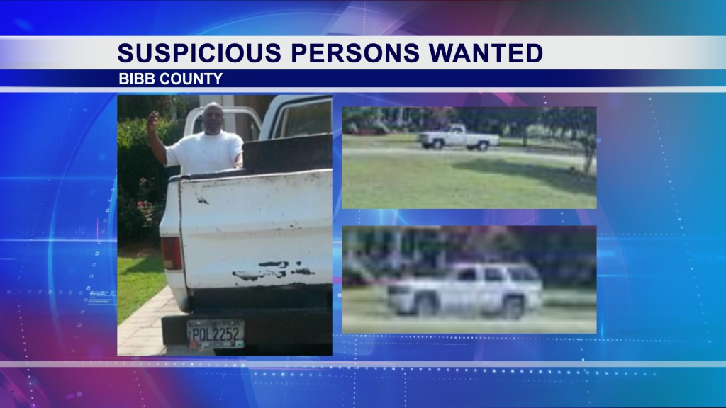 Bibb County deputies are asking people to be on the look out for suspicious men.