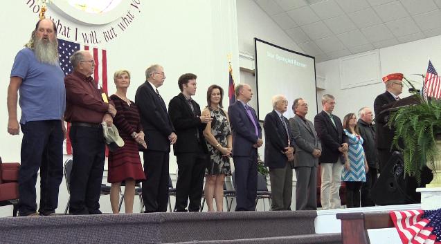United Community Church Veterans Day ceremony