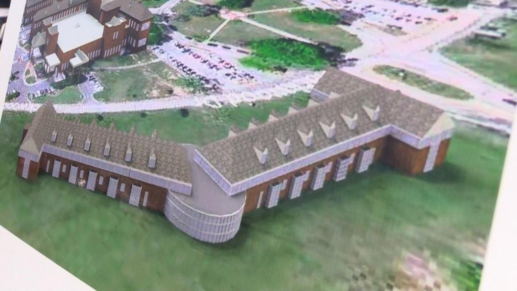 The Carl Vinson VA Medical Center is creating a mental health building.