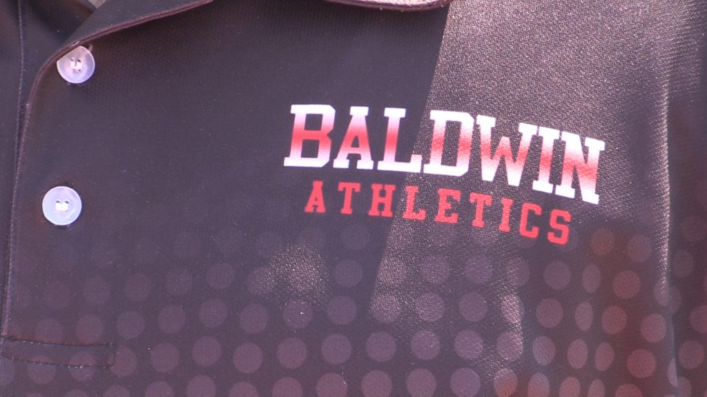 Baldwin High School is looking to add a new scoreboard to the stadium.