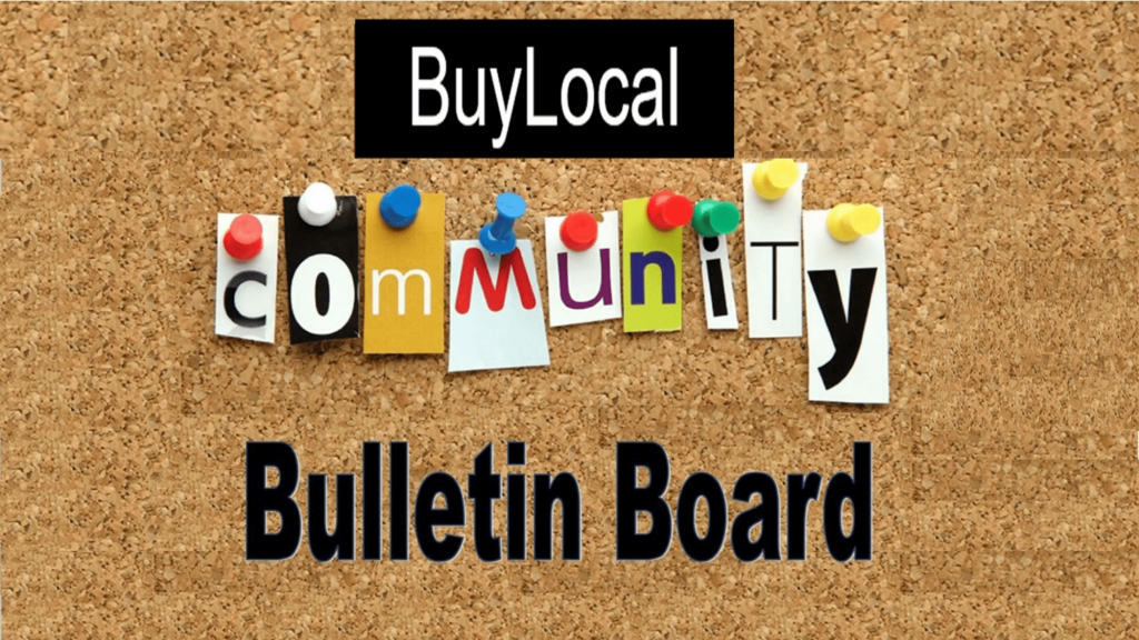 Community Bulletin Board Featured Image