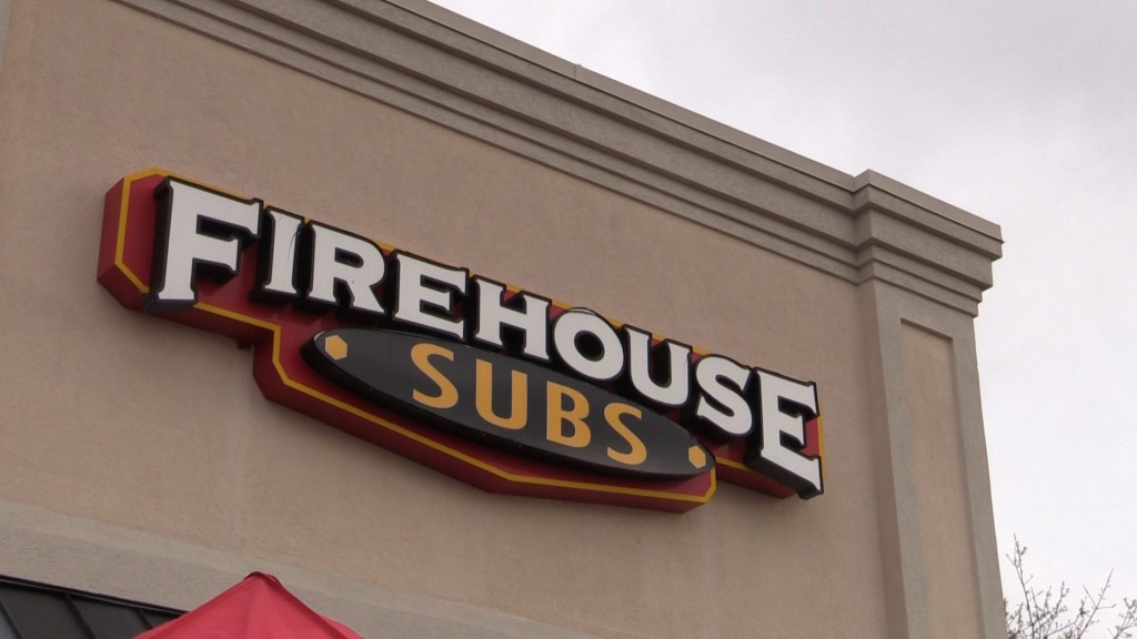 Firehouse Subs helps local fire departments with grants to buy equipment.