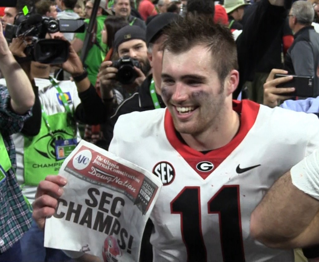 Jake Fromm SEC Championship Game 2017