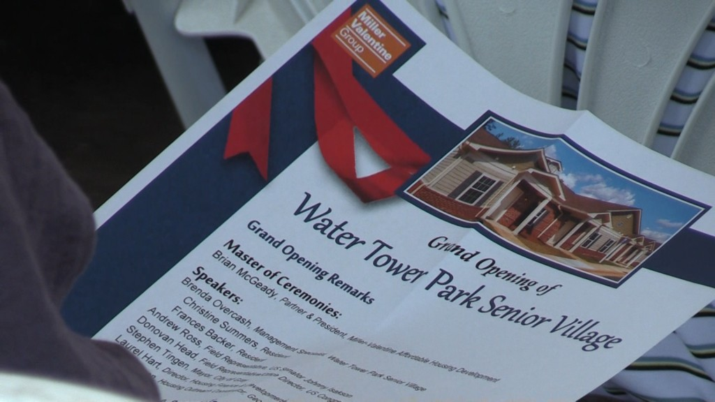 The Water Tower Park Senior Village is ready to house low-income seniors in Gray.