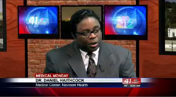 Dr. Daniel Haithcock explains new heart technology for Medical Monday.