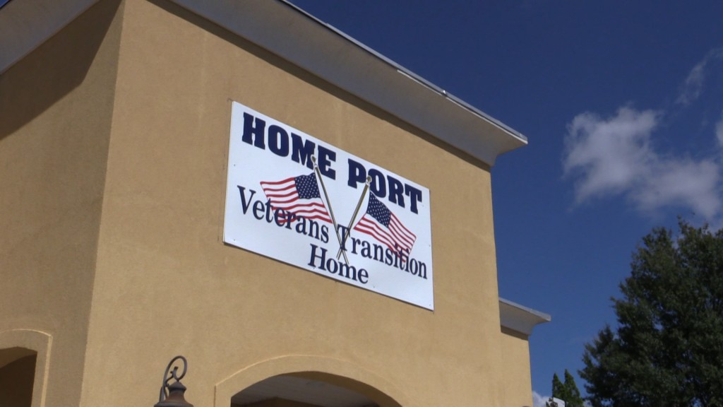 Home Port Veterans Transition Home helps veterans get back on their feet in Macon.
