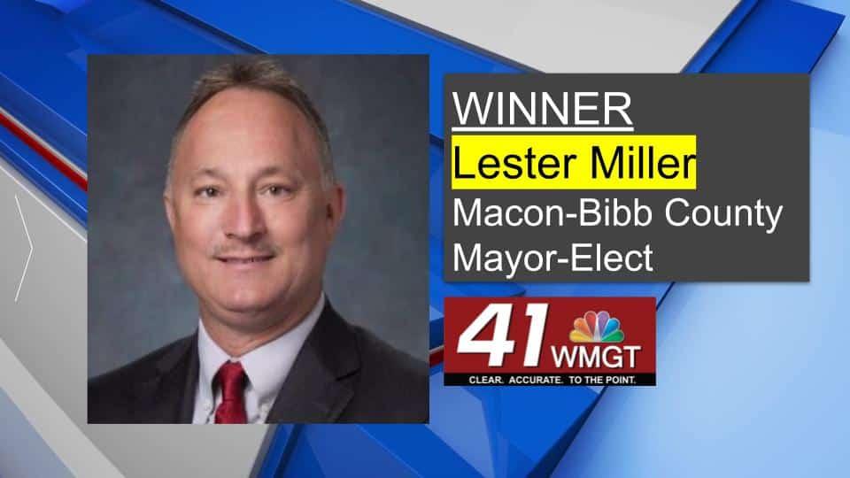 Lester Miller Wins Mayor Macon-Bibb
