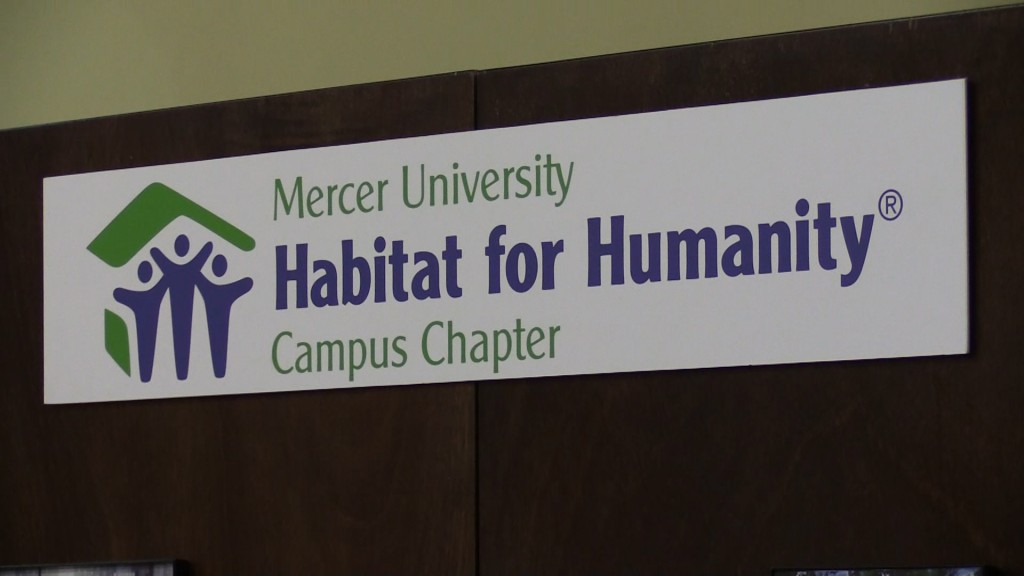 The Mercer chapter of Habitat for Humanity hosted a luncheon to help raise money for the Mercer Build Monday.