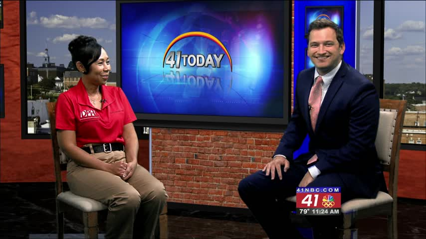 The Macon-Bibb Health Department's Mary Brown joins 41NBC to talk about National Immunization Awareness Month.