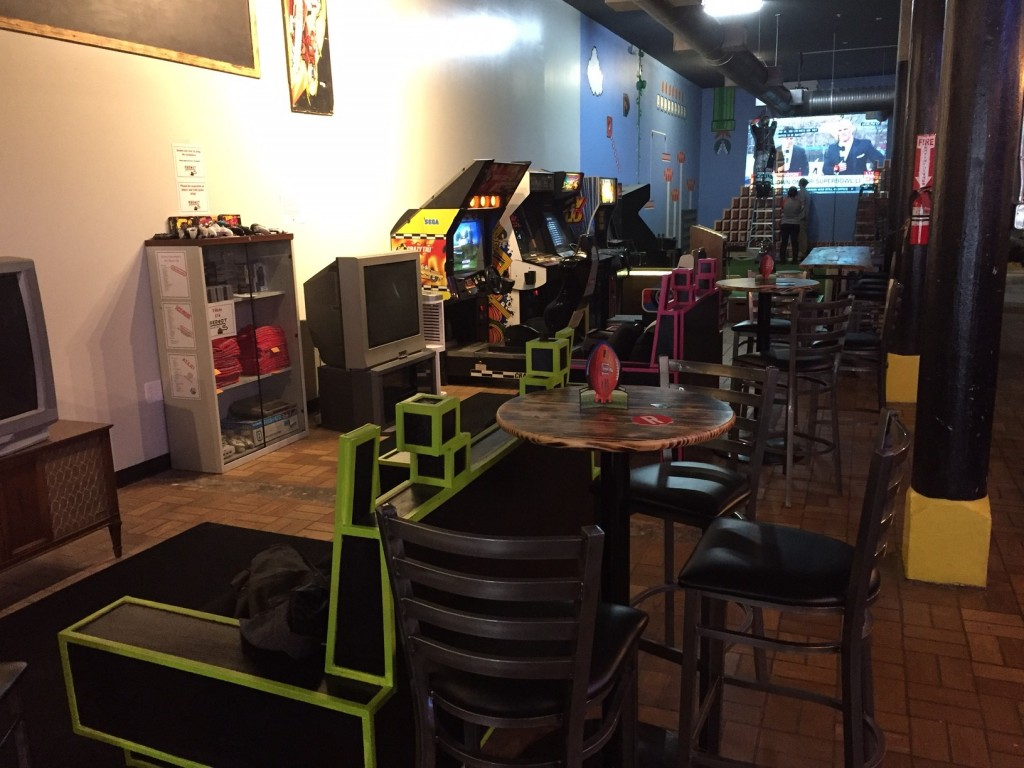 Reboot Retrocade & Bar is ready for the Falcons to win in the Super Bowl.