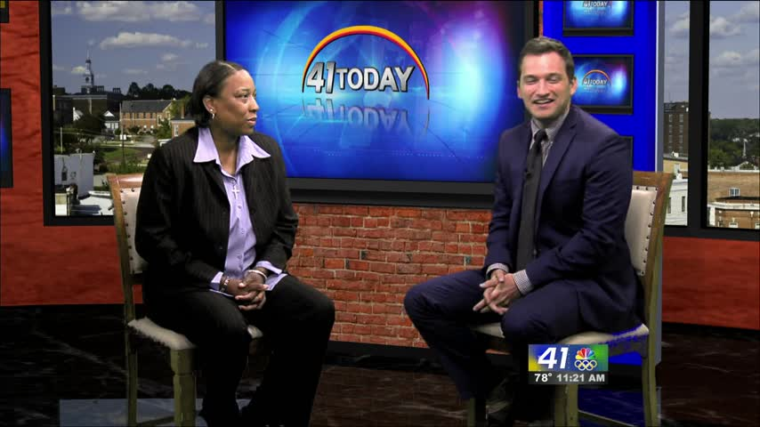 Host Chiquita Hall joins 41NBC to talk about the United Prayer Rally coming up this weekend in Eastman.