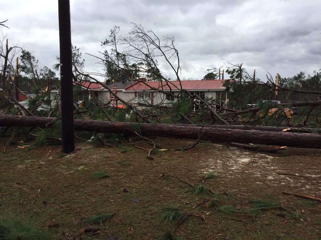 Wilcox County was hit hard by a tornado over the weekend.