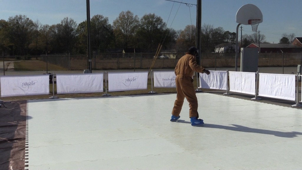 You'll be able to do some outdoor ice skating at the Winter Wonderland in Fort Valley this weekend.