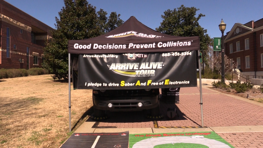 Impaired driving simulation