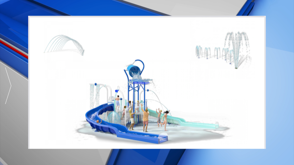 Aquatic center in Baldwin county