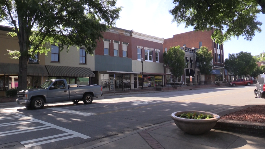 Downtown area welcoming new faces.
