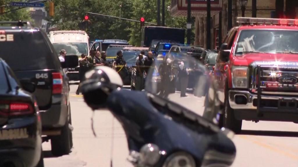 Atlanta Apartment Shooting
