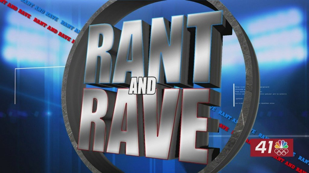 Rant And Rave: June 4th It's Quiet In Here