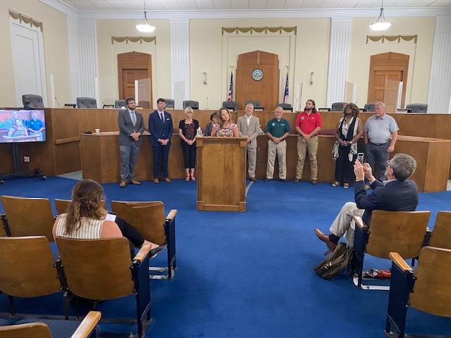 Macon-Bibb County Announcement