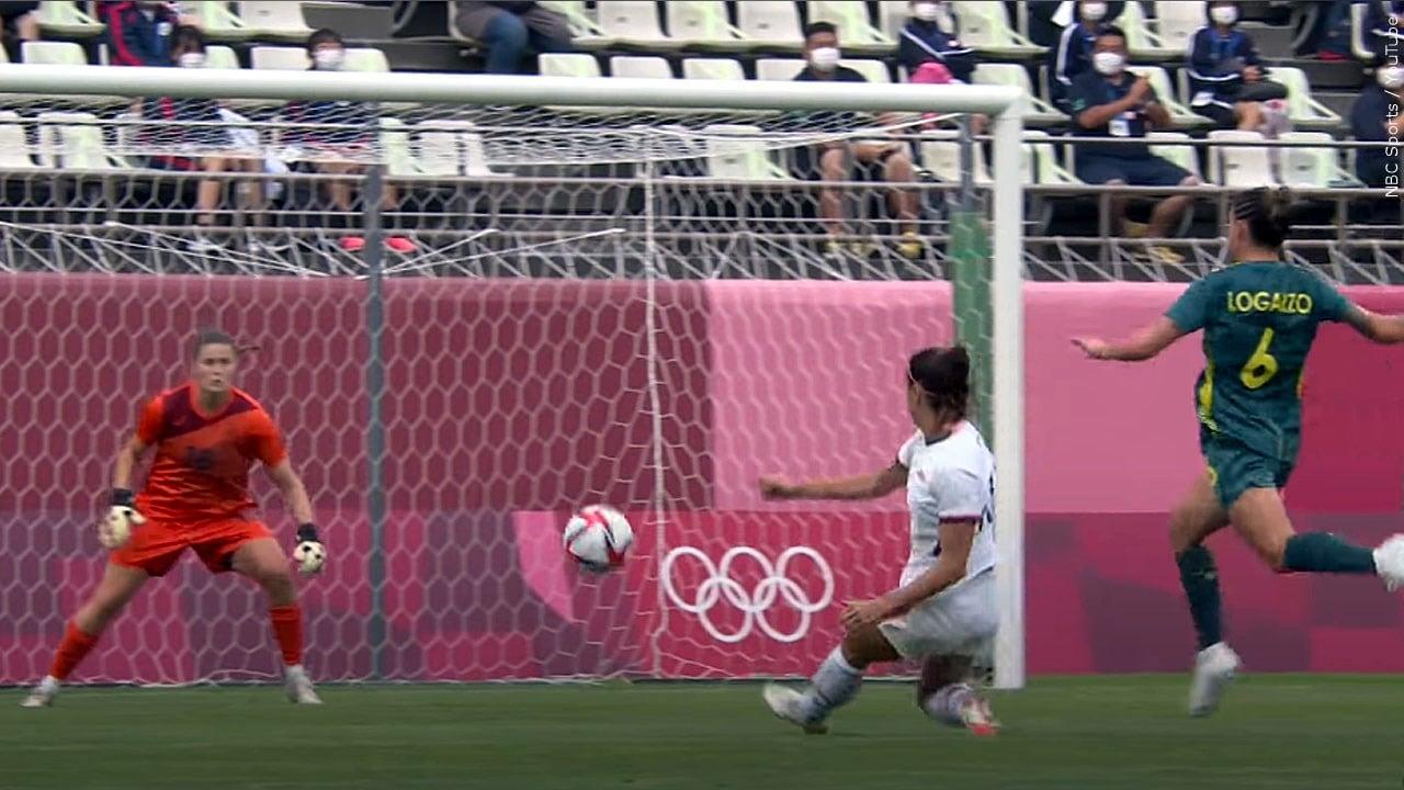 U.S. women held scoreless by Australia in group stage finale - 41NBC News