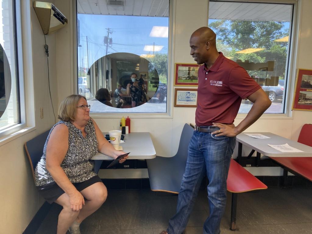 Kelvin King visits