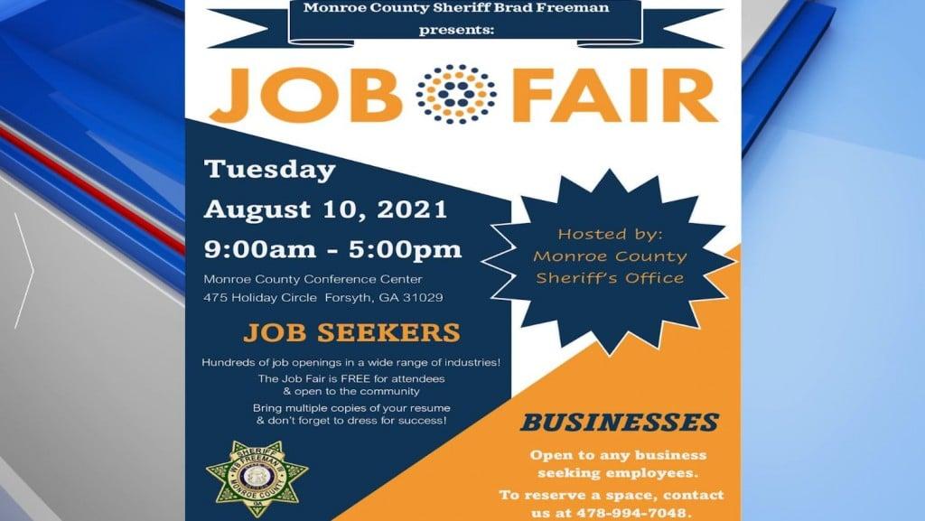 Monroe County Sheriff's Office Job Fair