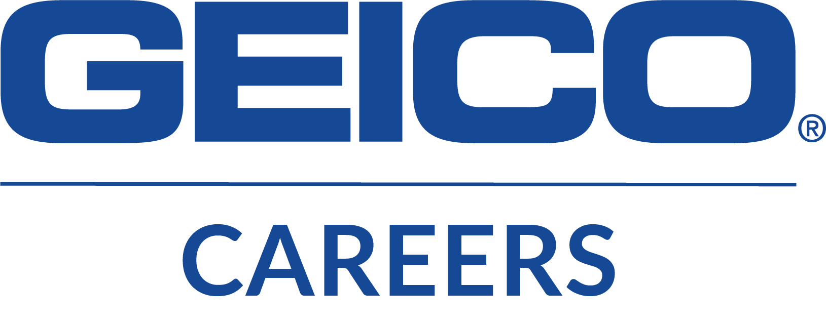 Geico Careers Stacked Blue