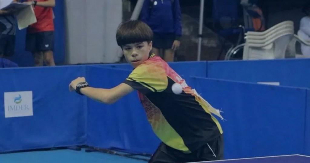 Oscar Birriel, El Boricua De 15 Años Que Domina El Tenis De Mesa En Austria