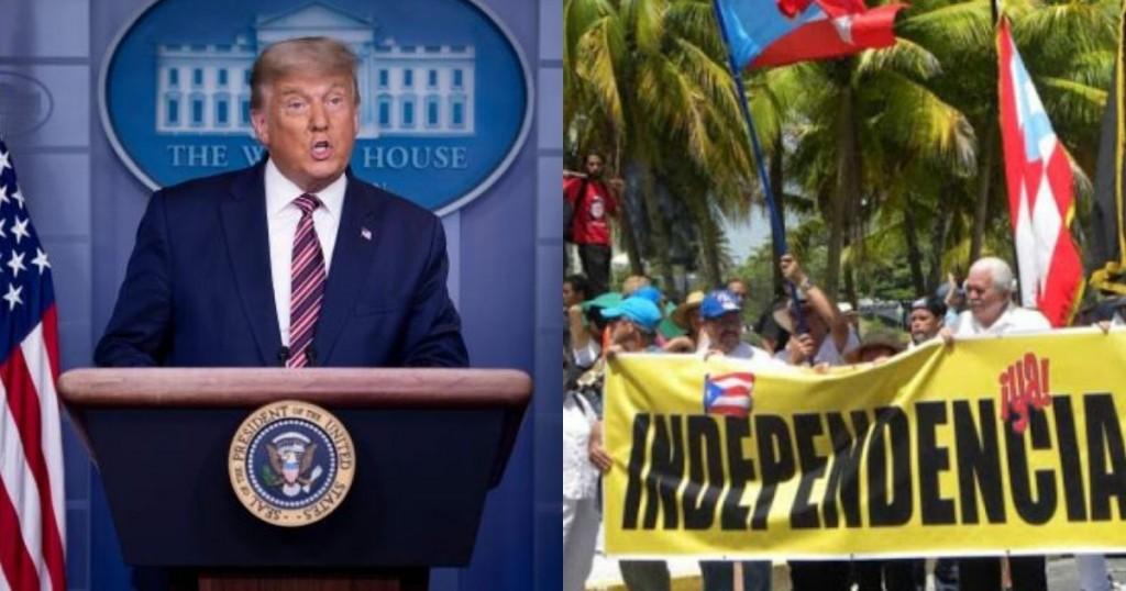 A Donald Trump Le Enviaron Una Carta Solicitándole La Independencia De Puerto Rico