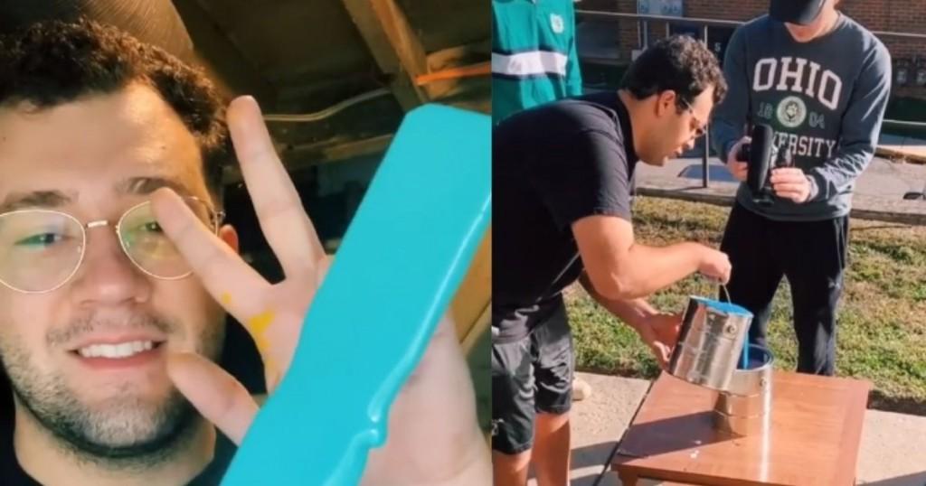 Viral Joven Se Hizo Famoso En Tik Tok Por Vídeos En Su Trabajo Y Lo Despidieron