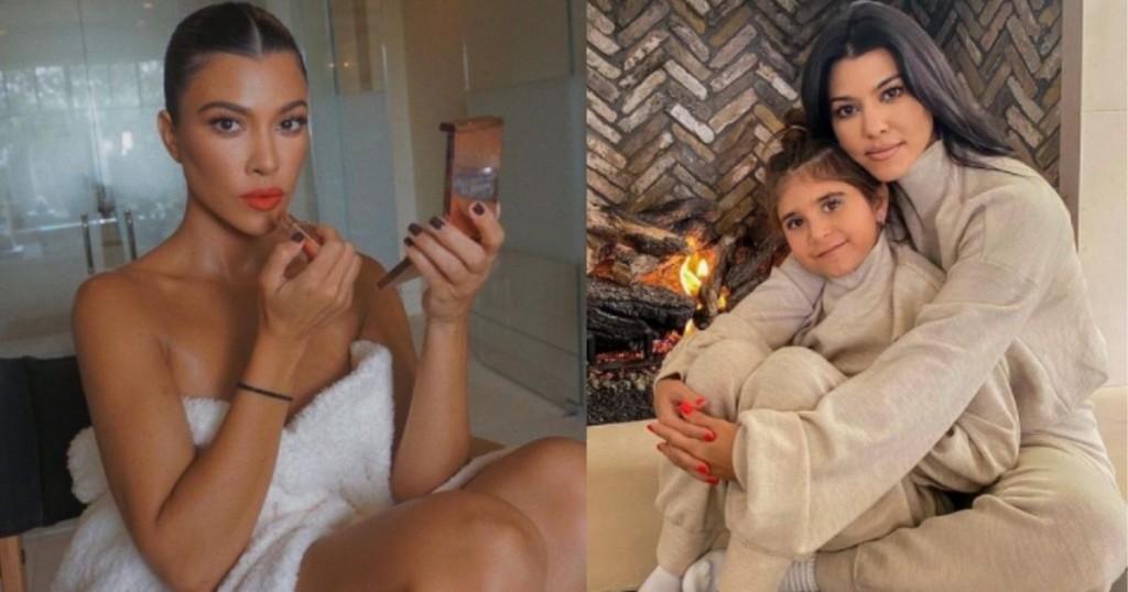 ¿bebé A Bordo Kourtney Kardashian Posó En Bikini Y Despertó Rumores De Embarazo