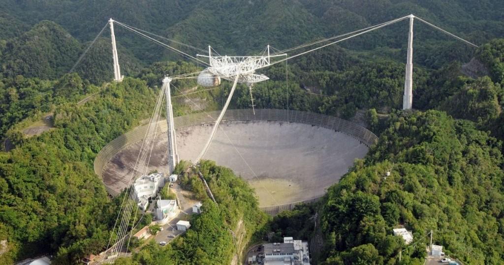 Observatorio De Arecibo Colapsó Antes De Que Fuera Desmantelado