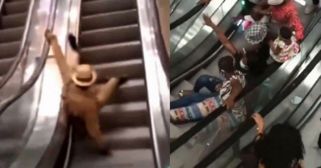Viral La Inauguración De Las Escaleras Eléctricas En Camerún Terminó Siendo Todo Un Desastre