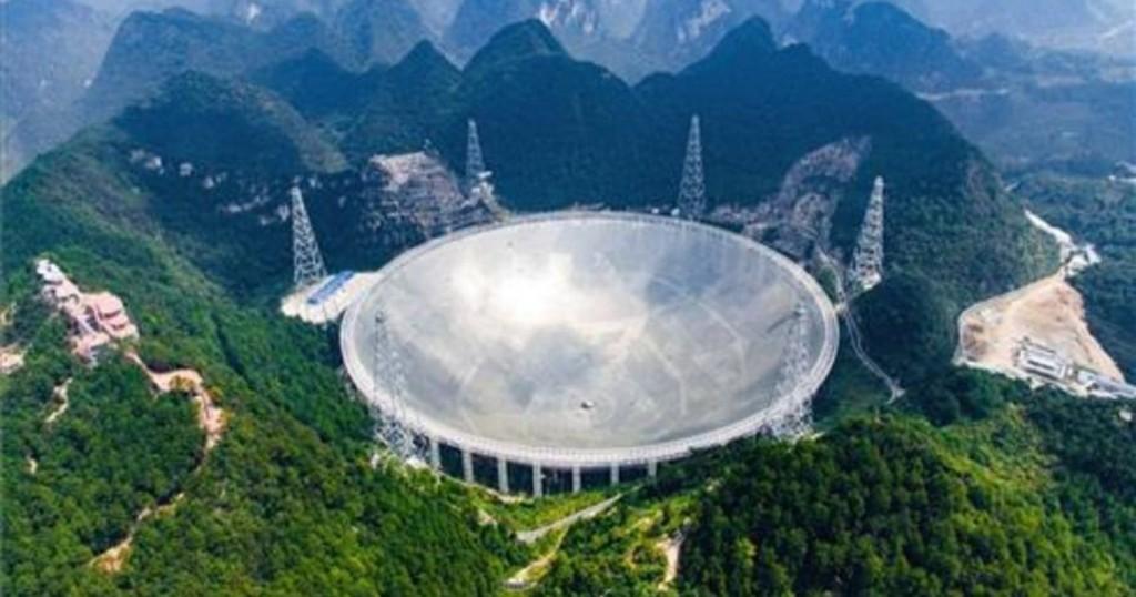 ¿un Ojo En El Cielo El Nuevo Radiotelescopio De China Inspirado En Arecibo Es El Más Grande Del Mundo
