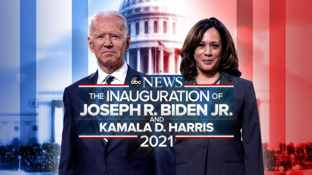 Joe Biden Kamala Harris Inauguration Abc