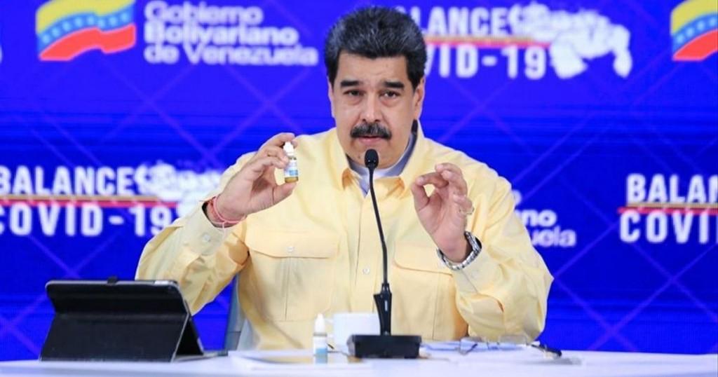 Nicolas Maduro Aseguro Tener Las Gotas Magicas Para Acabar Con El Covid 19