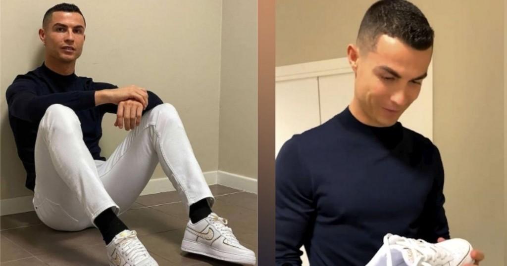 Conoce La Reaccion Por La Que Cristiano Es Blanco De Criticas Tras Recibir Costosas Zapatillas Nike