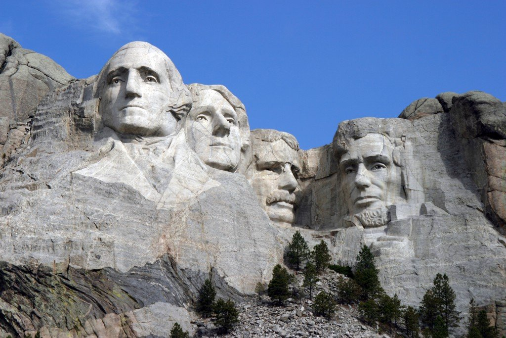 Dean Franklin 060403 Mount Rushmore Monument By Sa