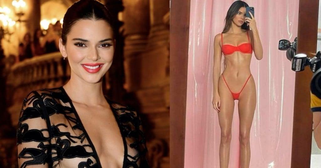 Viral Experto Explica Porque Kendal Jenner No Tiene La Figura Del Bikini Rojo