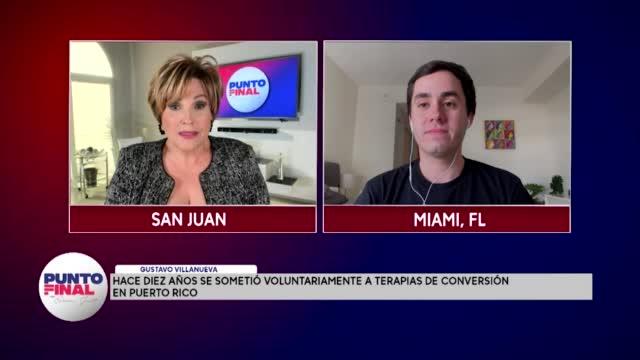 Punto Final Hace Diez Años Se Sometió A Terapias De Conversión En Puerto Rico