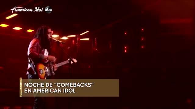 Primetime Noches De Comebacks En American Idol